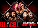 WWE2016年10月31日_WWE2016地狱牢笼_wwe2016 Hell in a Cell